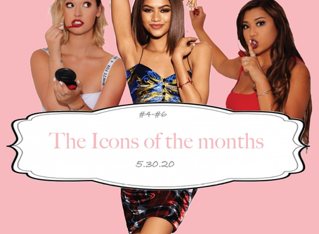 #4, #5 and #6: The Icons of the month