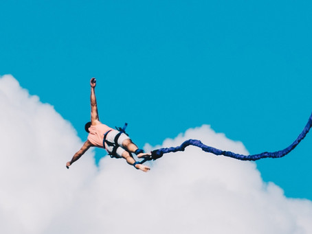Slow motion bungee jumping - lead with understanding