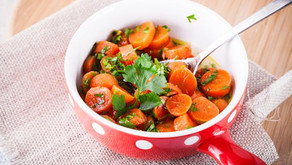 Dušená mrkev na fitness zdravý způsob