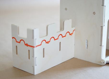 Personnalisation du château de Plywood