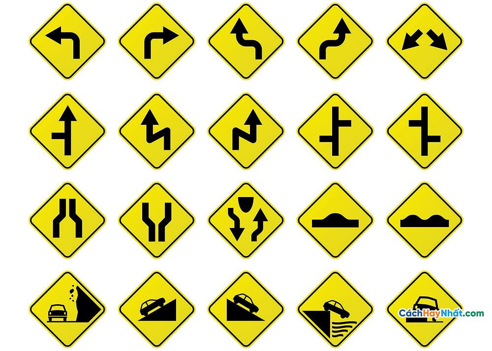 Biển báo giao thông - traffic signs