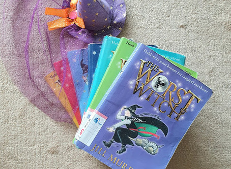 READ & REVIEWED: The Worst Witch series by Jill Murphy