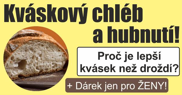 Recept na domácí kváskový chléb