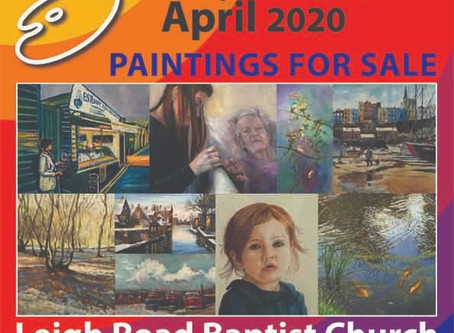 Spring Art Exhibition entry forms have been sent out.
