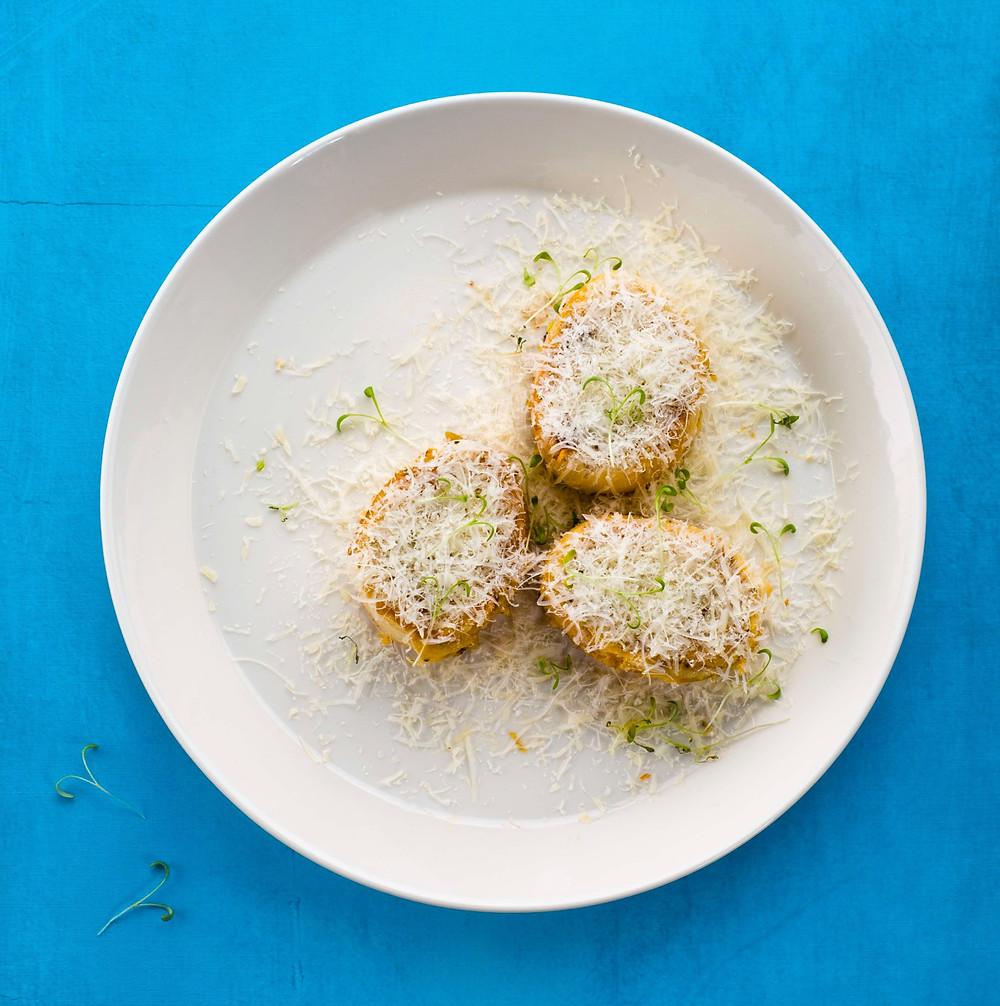 duoniukai su plakta kiaušiniene, pusryčių receptas, Alfo receptai, ALfas Ivanauskas