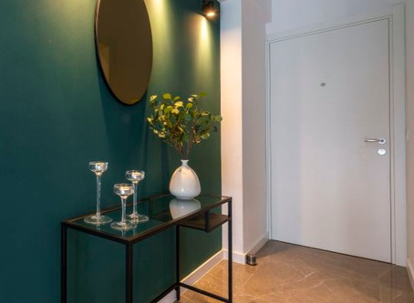 How I dreamed about green wall paint for nights (in love with green part II)