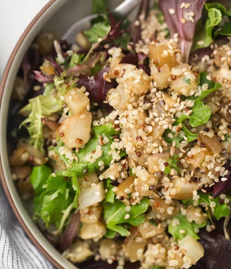 Sesame Roasted Veggie Salad