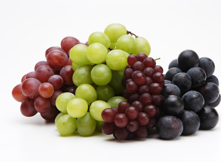 お友だちから葡萄が届きます。