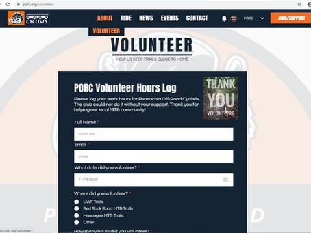 How to Log Volunteer Hours