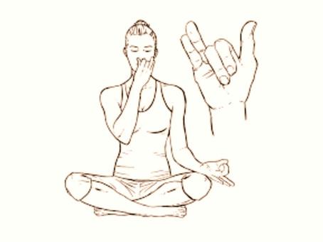 Réduire son stress avec la respiration alternée Nadi Shodhana