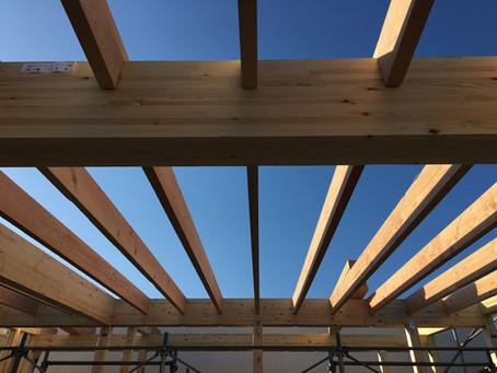 ORE屋根建て方