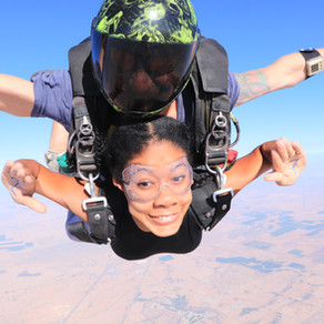 I Turned 27, so I Jumped Out of a Plane.