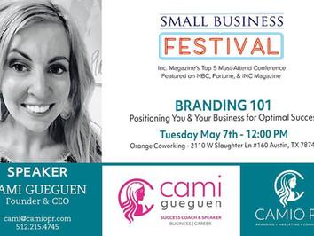 Cami Speaking on Branding 101