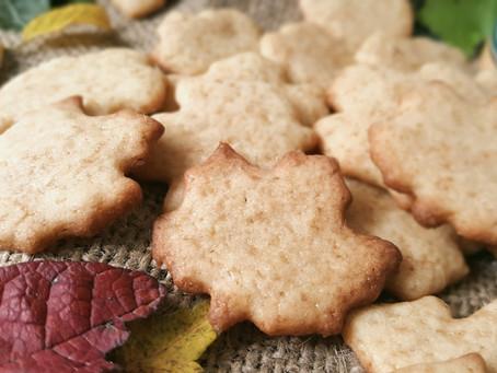 Ahornsirup-Cookies 🍁 Blätterrascheln auf dem Keksteller 🍁🍂🍃
