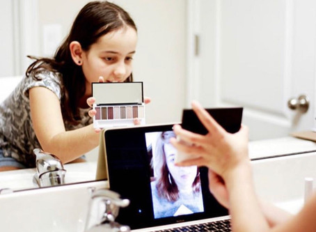 Makeup Lessons for Tweens + Teens