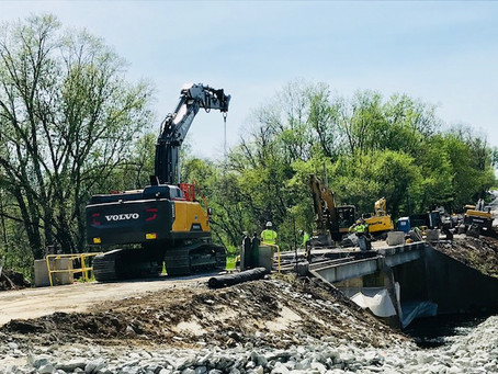 Walsh Builds Bridges with Volvo Equipment