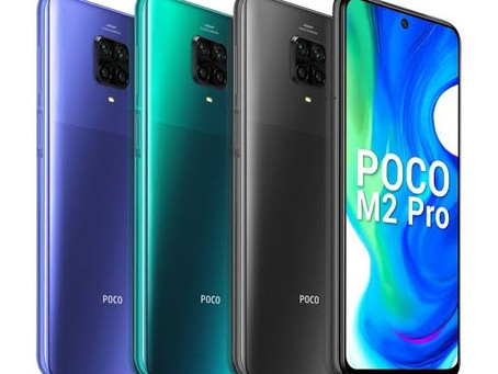 Poco M2 Pro Launched in India under Rs.13,999
