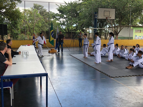 Projeto Taekwondo 'Educação e Progresso' acolhe jovens no Yolanda Ópice