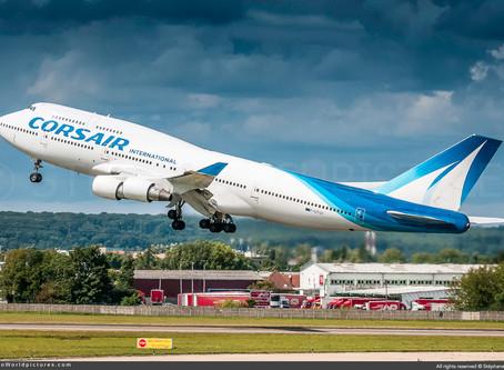 Corsair # Retires Its Final Boeing 747