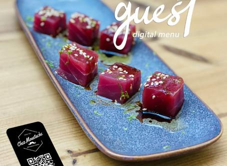 Menu Digital en ligne pour Restaurants