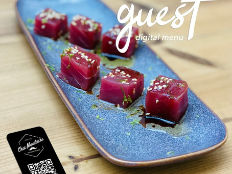 Menu Digital en ligne pour Restaurants