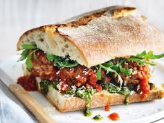 Matt Moran Meatball Sandwiches