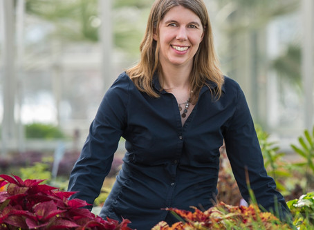 Shedding Light on Plant Records with     Cindy Newlander
