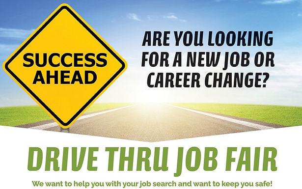 statewide Drive Thru Job Fair