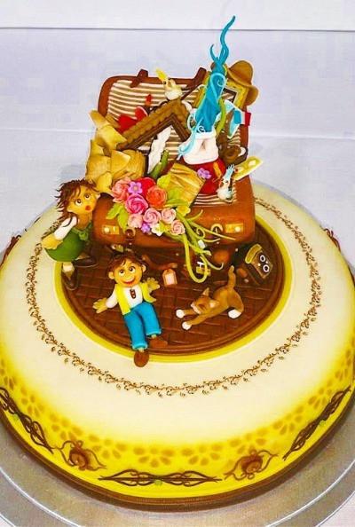 マジパンケーキの写真