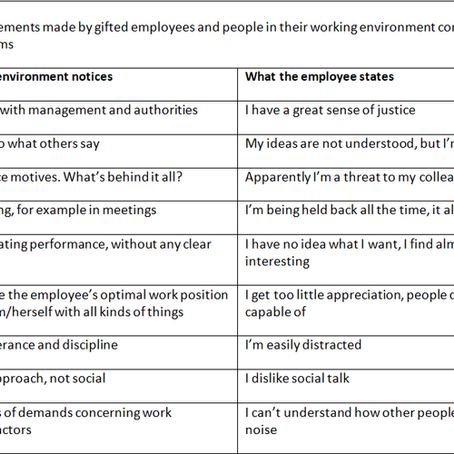 Gifted Adults in Work