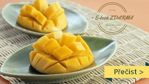 Co bys měla vědět o mangu, recept na smoothie a mangová zmrzlina