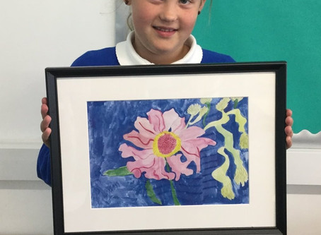 Artwork in Year 3