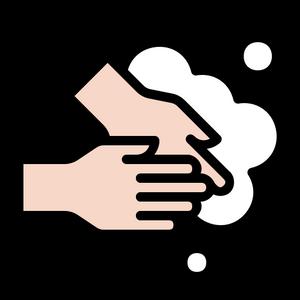 4443522 - bubble clean hand handwashing hygiene wash