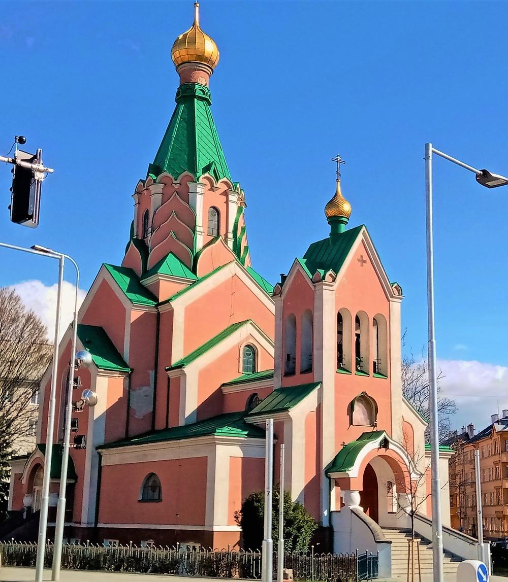 Chrám svatého Gorazda v Olomouci je katedrálním chrámem celé olomoucko-brněnské eparchie
