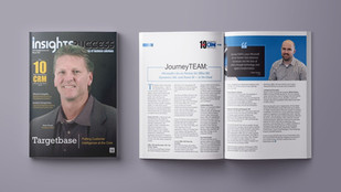 JourneyTEAM was Voted as one of the TOP 10 CRM Solution Providers