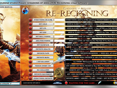 KINGDOMS OF AMALUR RE-RECKONING CHEATS, TRAINER, MOD, CODES, SAVE EDITOR, ITEMS EDITOR, UNLOCK ALL!