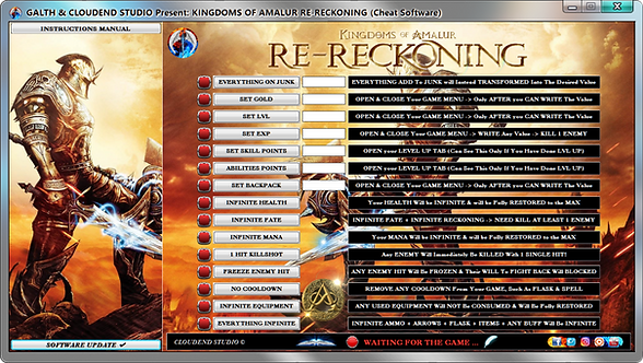 Kingdoms of Amalur Re-Reckoning, Cheat Engine, Cheats, Trainer, Mods, Codes, Editor, Cheat Happens, Fling Trainer, WeMod,