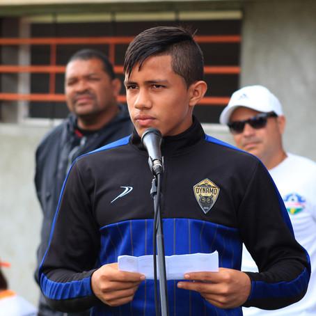 Wikelman Carmona juramentó a los jugadores en la inauguración del Torneo Estadal Apertura 2019