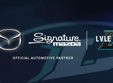 Signature Mazda named Official Automotive Partner of Lvle Up