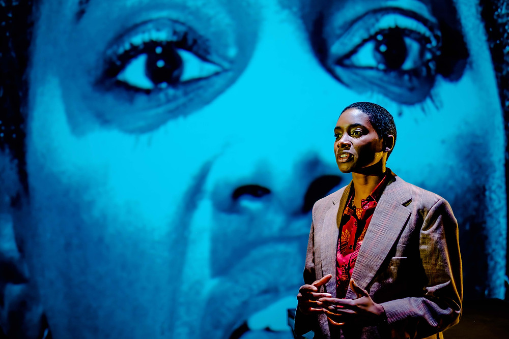 Keicha Greenidge as Marlow in Heart of Darkness at the Dukes in Lancaster