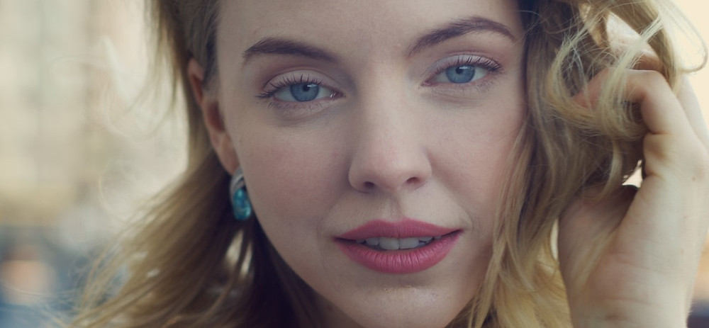 Still from Dual Action showing protagonist Skye Stracke.
