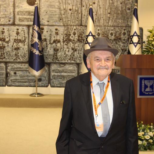 ביקור בבית נשיא המדינה   דיור מוגן רמת תמיר