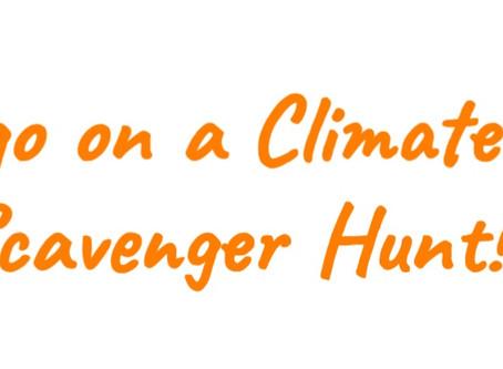 Go on a Climate Kids Scavenger Hunt!