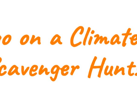 Go on a Climate Kids Scavenger Hunt!