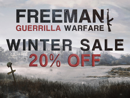 Get Freeman 20% Off on Steam Winter Sale!