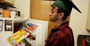 Grad Celebrates Digital Commencement, Chooses 'Chocolatey Chip' Over Original Eggos