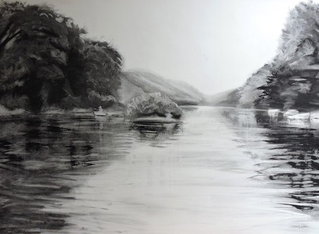 Draw what you know: The spirit of the Allegheny River