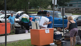 Freshman Move in Day in Photos