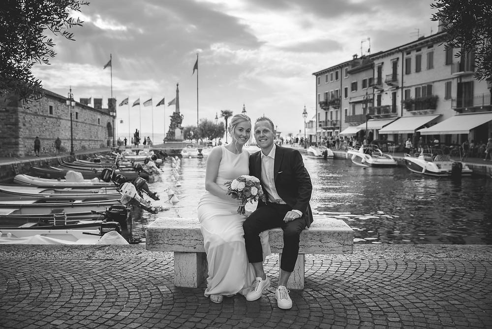 Hochzeitsfotograf in Lazise, Gardasee.
