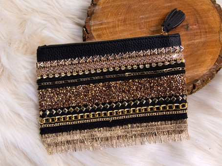 How to Transform a Cosmetic Bag Into a Chic Clutch